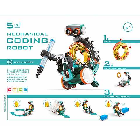 5 IN 1 CODING ROBOT