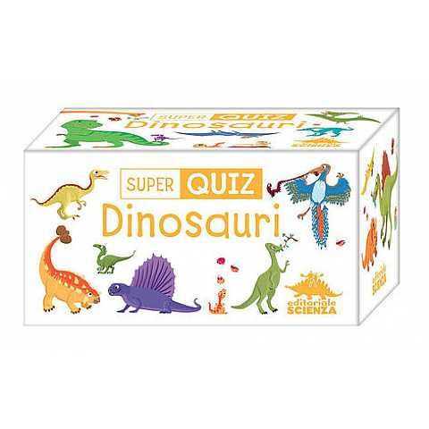 SUPERQUIZ BOX: DINOSAURI