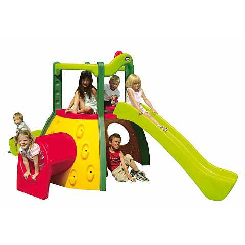 DOUBLE SLIDE CLIMBER