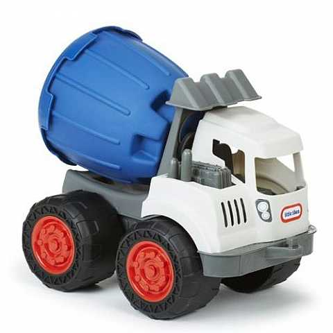 Dirt Diggers 2-in-1 Haulers Cement Mixer