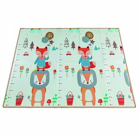 Foldable playmat