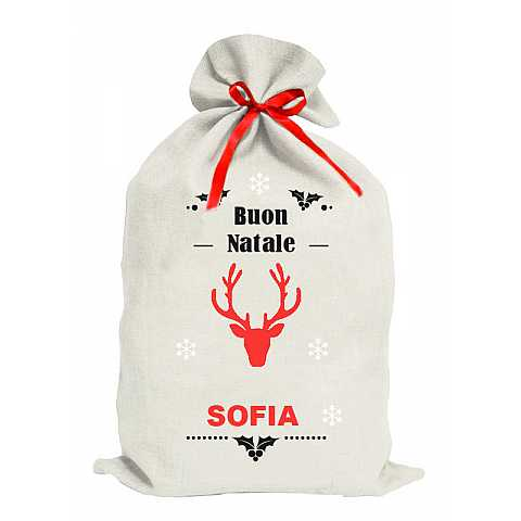 Customizable Christmas sack