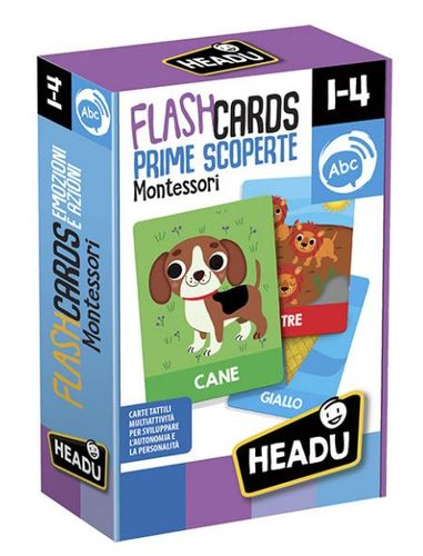 FLASHCARDS MONTESSORI PRIME SCOPERTE