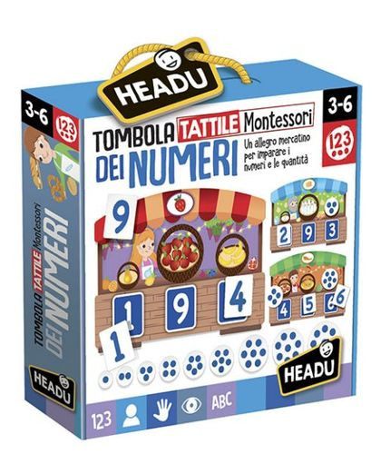 TOMBOLA TATTILE 123 MONTESSORI