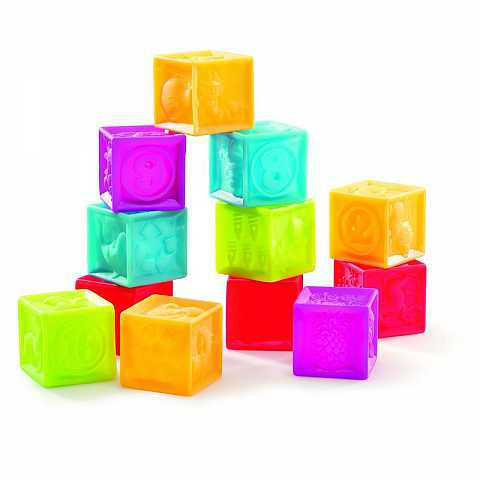 Soft cubes (12 pcs)