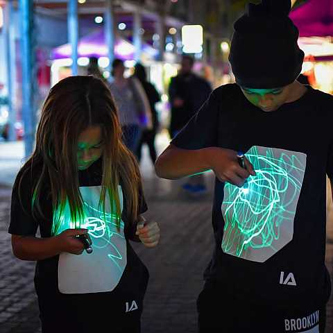 T-SHIRT LUMINOSA 7/8