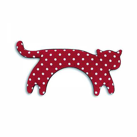 polka dots cat Warming pillow