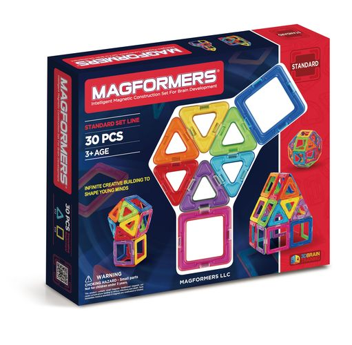 MAGFORMERS 30 PEZZI