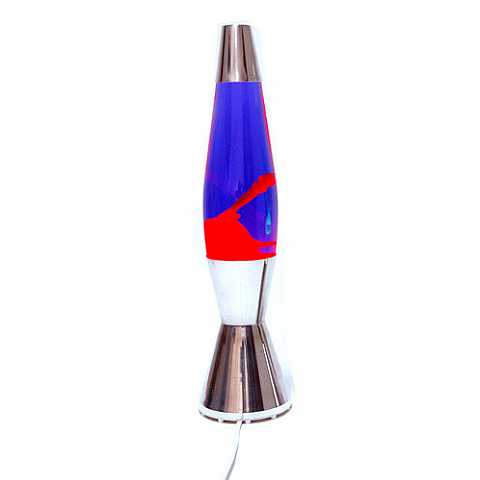 Astro Baby lava lamp: PURPLE / RED