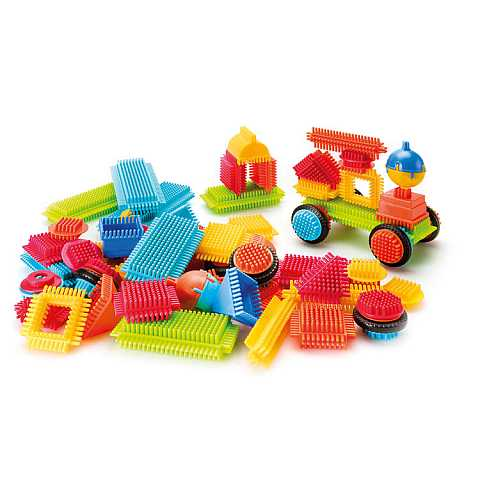 Bristle Blocks - Big Value Case (80 pcs)