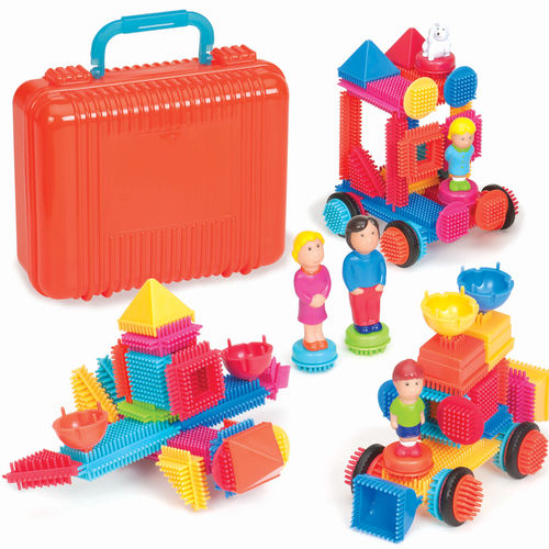 Bristle Blocks - Big Value Case (85 pcs)