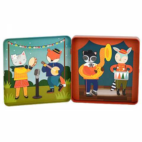 ON-THE-GO MAGNETIC PLAY SET - ANIMAL BAND