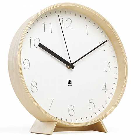 RIMWOOD CLOCK NATURAL