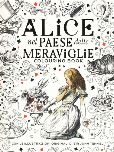 ALICE COLOURING BOOK
