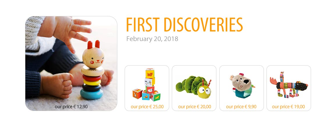 First discoveries. February 20, 2018.