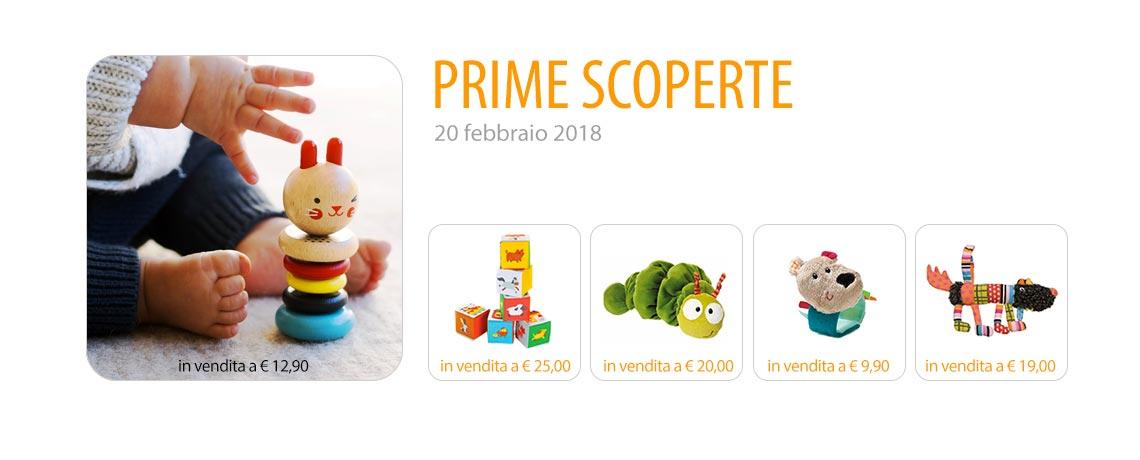 Prime scoperte. 20 febbraio 2018.