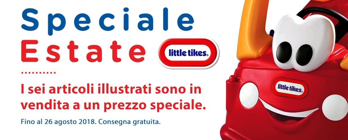 Special estate Little Tikes. I sei articoli illustrati sono in vendita a un prezzo speciale. Fino al 26 agosto 2018. Consegna gratuita.