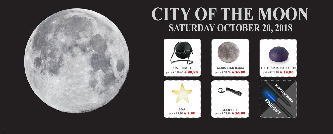 City of the Moon. Saturday, October 20, 2018.